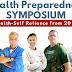 Health Preparedness Symposium - August 6th - 13th