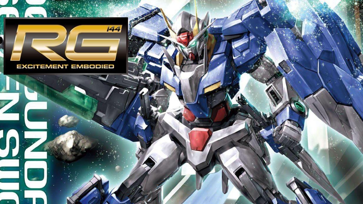 RG 1/144 00 Gundam Seven Sword - Release Info