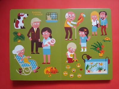 moja pierwsza encyklopedia obrazkowa, rodzina i emocje