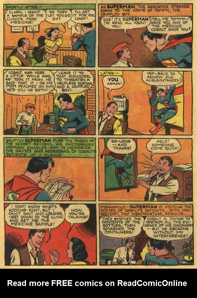 Read online Action Comics (1938) comic -  Issue #26 - 12