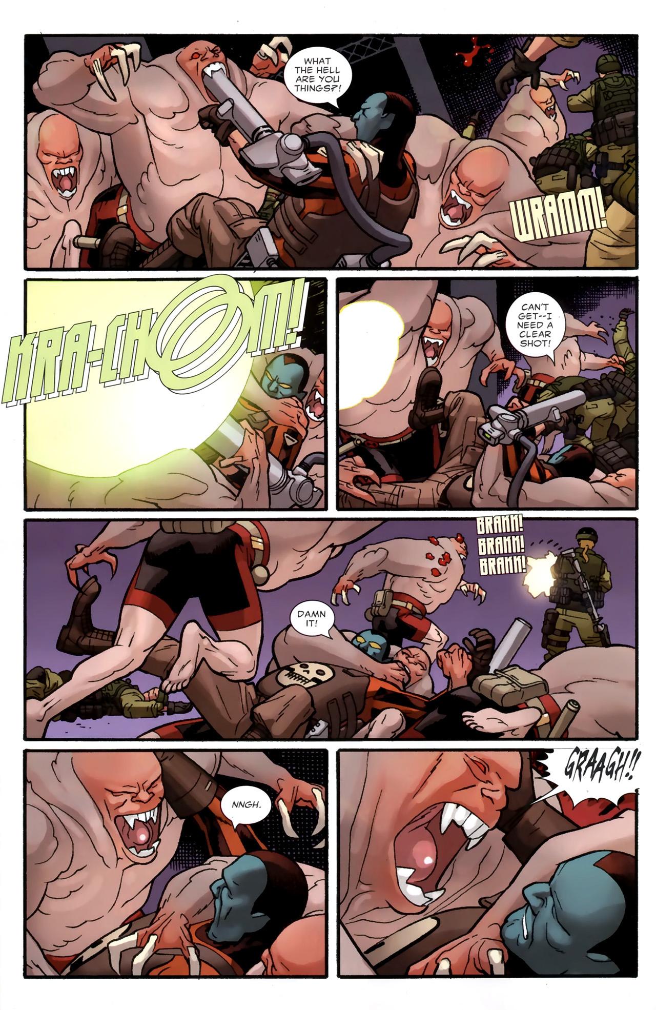 Read online Destroyer comic -  Issue #4 - 9