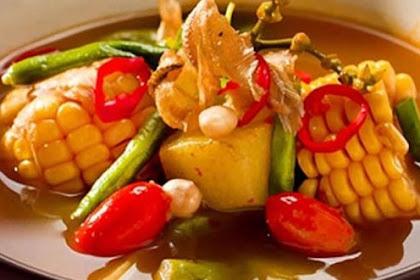 Resep Masakan Sayur Asem Yang Sangat Nikmat