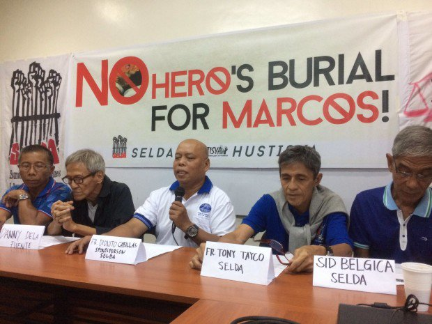 TRO sought by Martial Law victims before SC saying Marcos is no hero