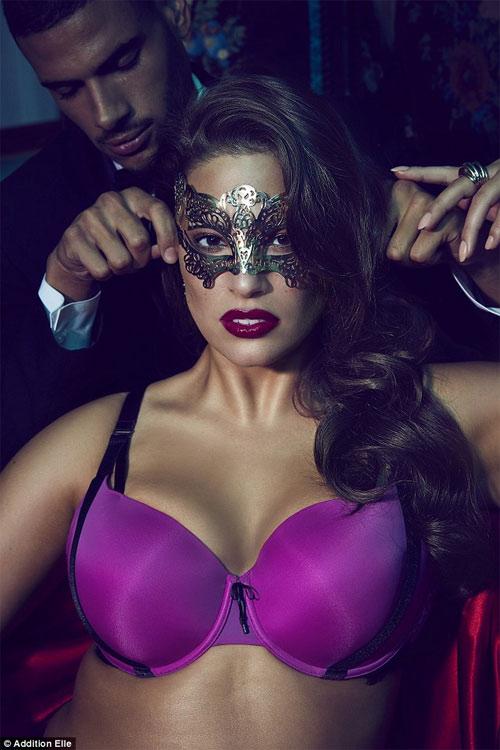 Người mẫu béo mập đẹp nhất nước Mỹ