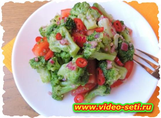 Cavolo broccolo al pomodoro