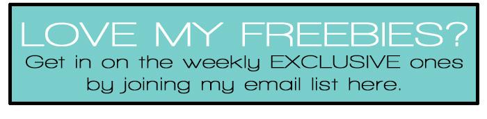Free List Printable