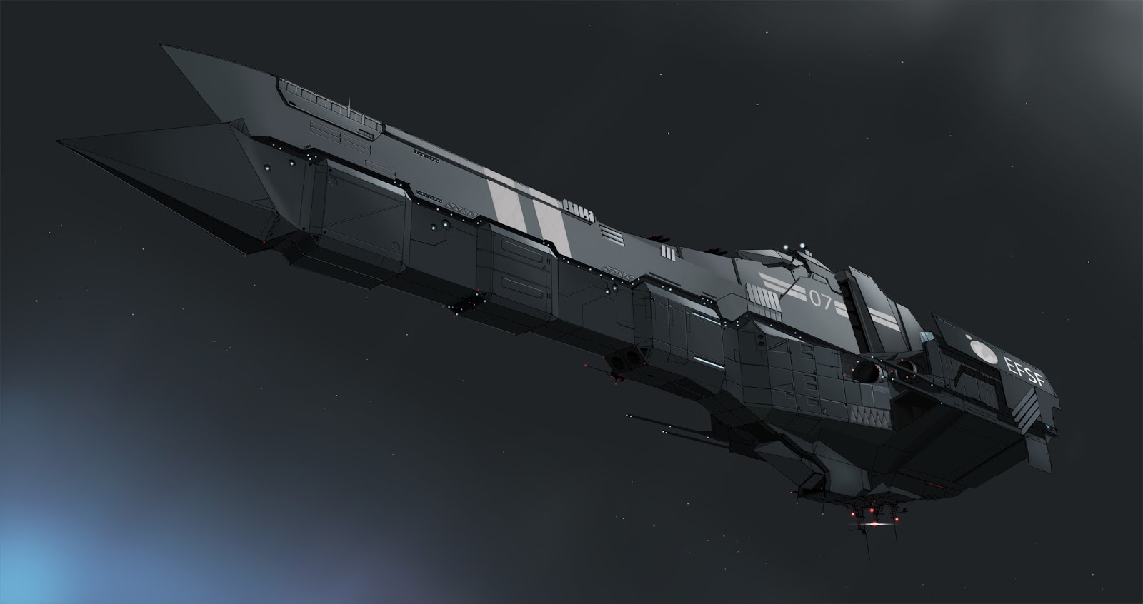 Tough sf space warship design a process for Space designers
