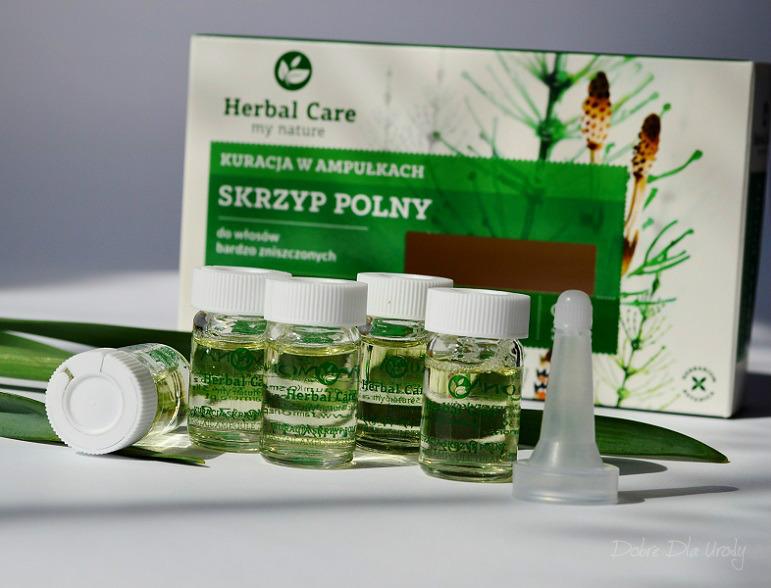 Farmona Herbal Care ampułki do włosów bardzo zniszczonych Skrzyp Polny