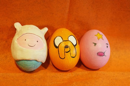 Inspirasi hiasan telur paskah - horizon inspirasi