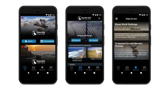 Iberalia Go para Android, la aplicación de caza y pesca para los cazadores y pescadores