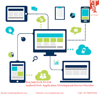 Android Web Application - Traj InfoTech