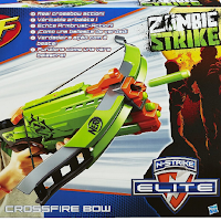 L'arbalète de Nerf Zombie Strike qui tire des flèches en mousse