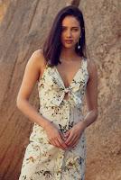 Moda Vestido Midi Estampado