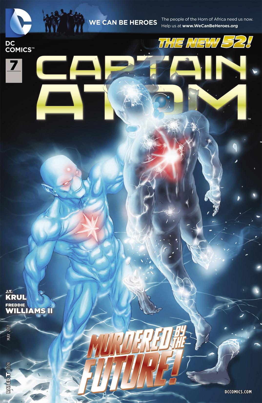 Captain Atom (2011) 7 Page 1
