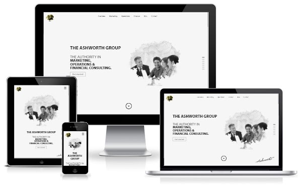 Ashworth  - One Page Portfolio | Wordpress