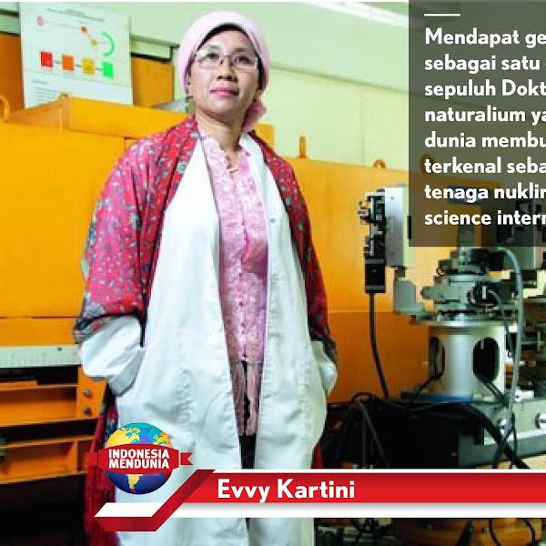 Evvy Kartini Ingin Indonesia Bisa Memproduksi Baterai Ramah Lingkungan