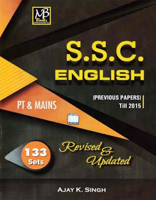 MB Publication ssc english book by A k singh
