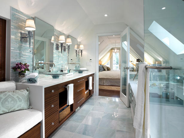 Bathroom Sets Luxury Reconditioned Bath Tub In Master Bedroom: Modern Furniture: Modern Bathrooms Decorating Designs