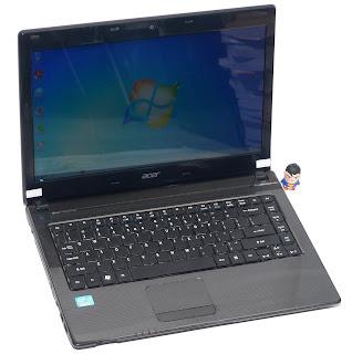 Laptop Second Acer Aspire 4752 Core i3 di Malang