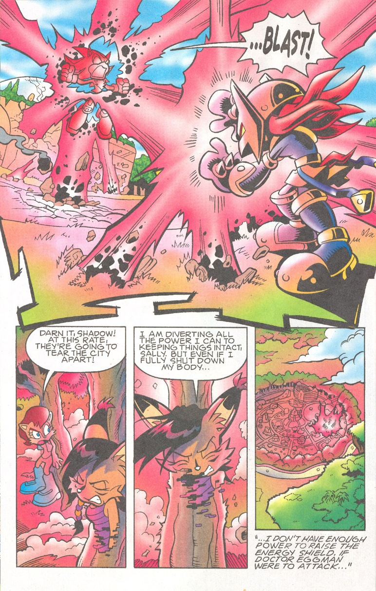 Read online Sonic The Hedgehog comic -  Issue #182 - 7