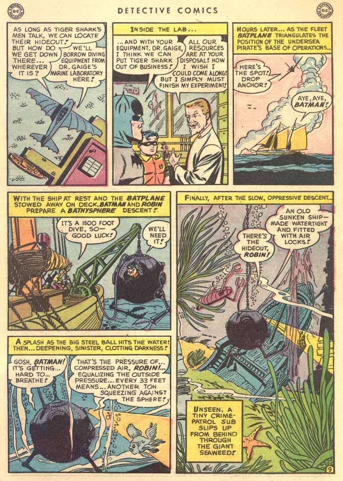 Read online Detective Comics (1937) comic -  Issue #147 - 11