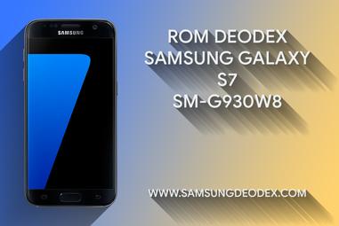 ROM DEODEX SAMSUNG G930W8