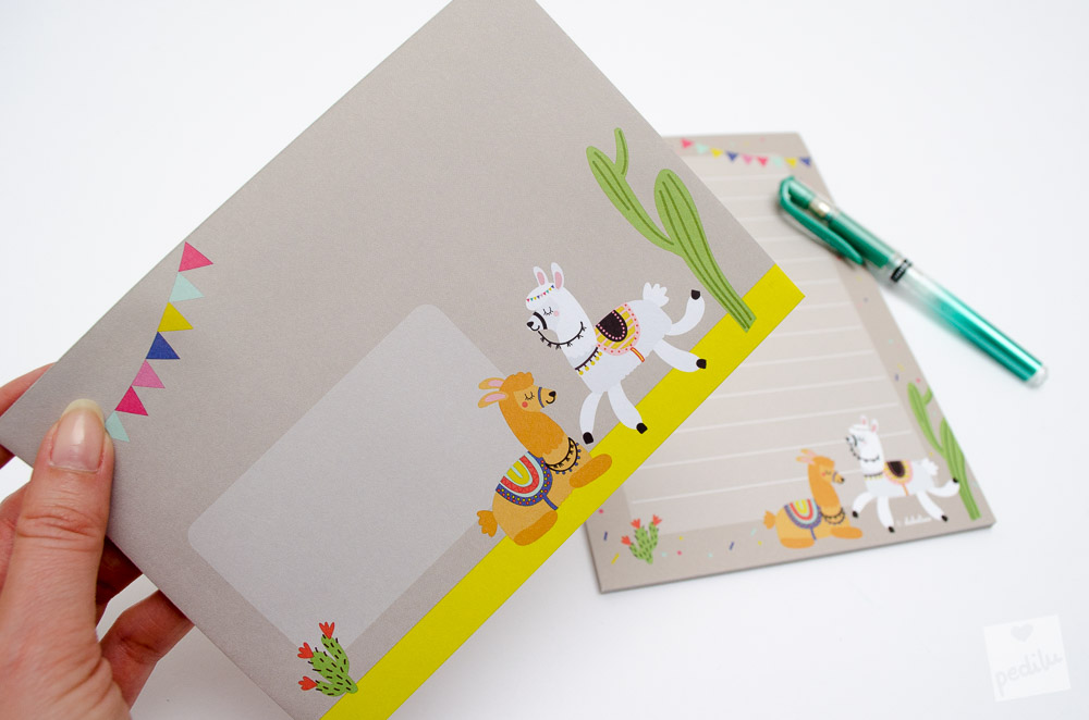 7 Lama-Ideen zum Verlieben – Briefpapier