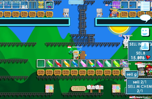 Resep Chemical di Growtopia Lengkap