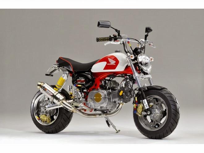 Racing Caf U00e8  Honda Monkey Special
