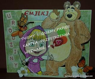 31 październik - kartki z Ewinką