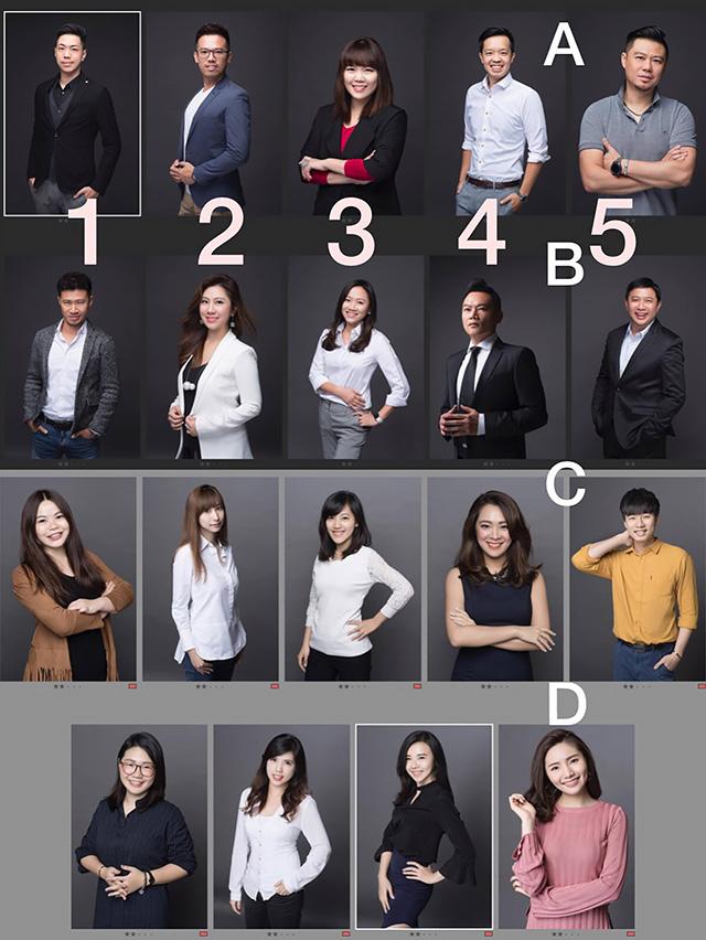 公司團體專業形象照