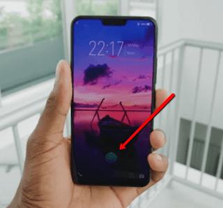 In-Glass Fingerprint Sensor: Vivo X21