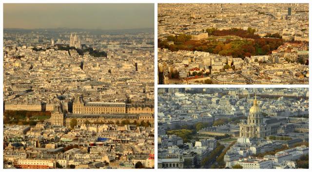 vistas da Torre Montparnasse