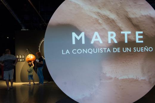 La exposición 'Marte. La conquista de un sueño' cierra de forma temporal el próximo 27 de enero