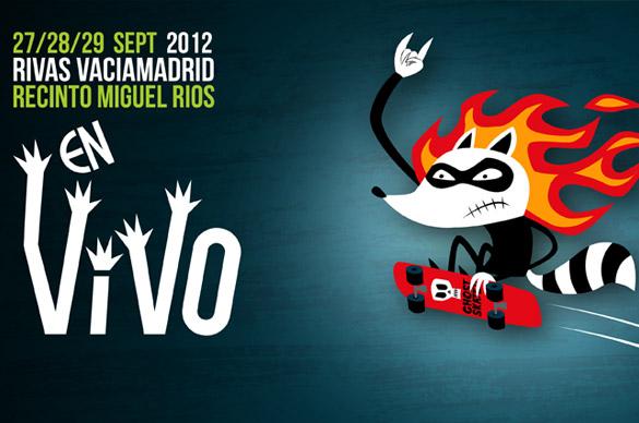 Últimos confirmados en el Festival En Vivo 2012