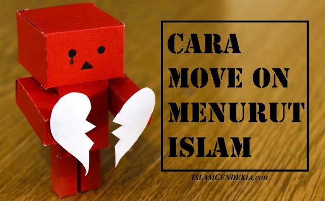 cara move on menurut islam