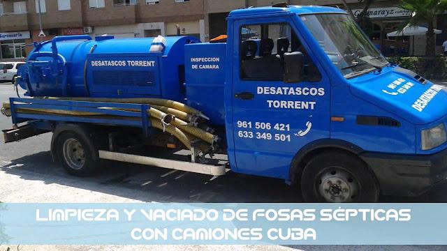 desatascos camiones cuba en Valencia