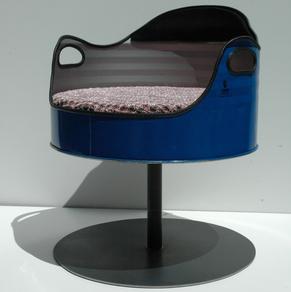 kursi restoran dari drum