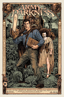 Limited Edition Army of Darkness poster - skuzzles.com