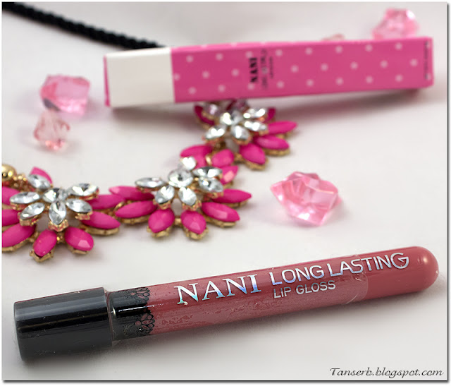 Матовая жидкая помада Nani Long Lasting Lip Gloss № 02
