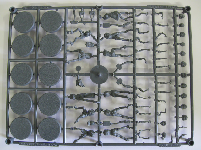 Warlord Games Project Z Female Zombie Vixens Sprue