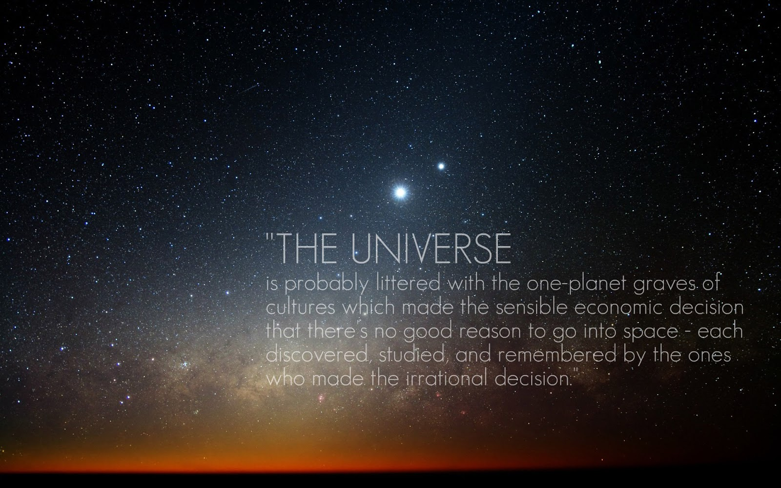 a study on the growth of the universe We are alone in the universe: fermi paradox study claims there is a 'substantial probability' there is not intelligent life elsewhere new study  growth of science.