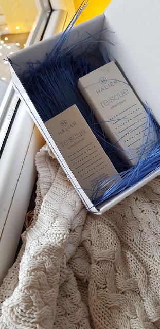 Recenzja kosmetyków Halier Re:scue szampon i odżywka