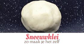 sneeuwklei recept