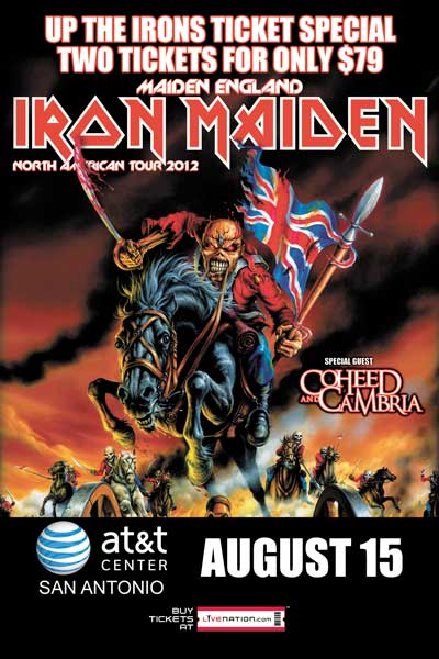 no control radio iron maiden tickets on the cheap 8 9 only. Black Bedroom Furniture Sets. Home Design Ideas
