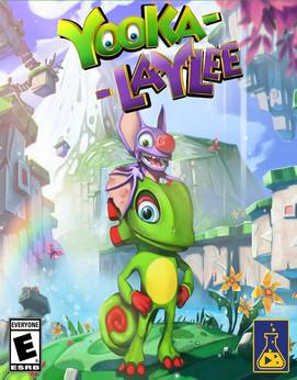 Yooka-Laylee Jogos Torrent Download capa