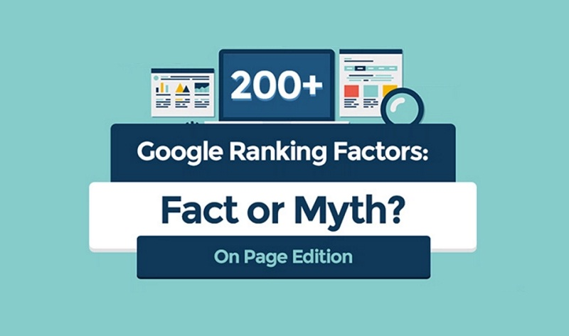 Search engine ranking factors: Are They Fact Or Myth? - #Infographic