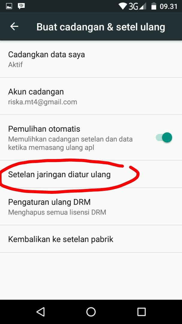 Terjadi Lemot Browsing Internet Android Himax H3 Plus M23i