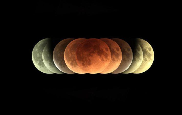 Blood Moon Prophecy Lunar Eclipse