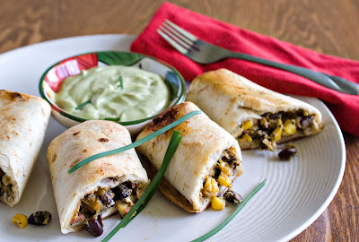 Healthy Chili's Southwestern Egg Rolls